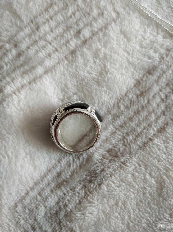 Сет кольцо и цепочка с двумя подвесками (Avon, Sunlight), one size