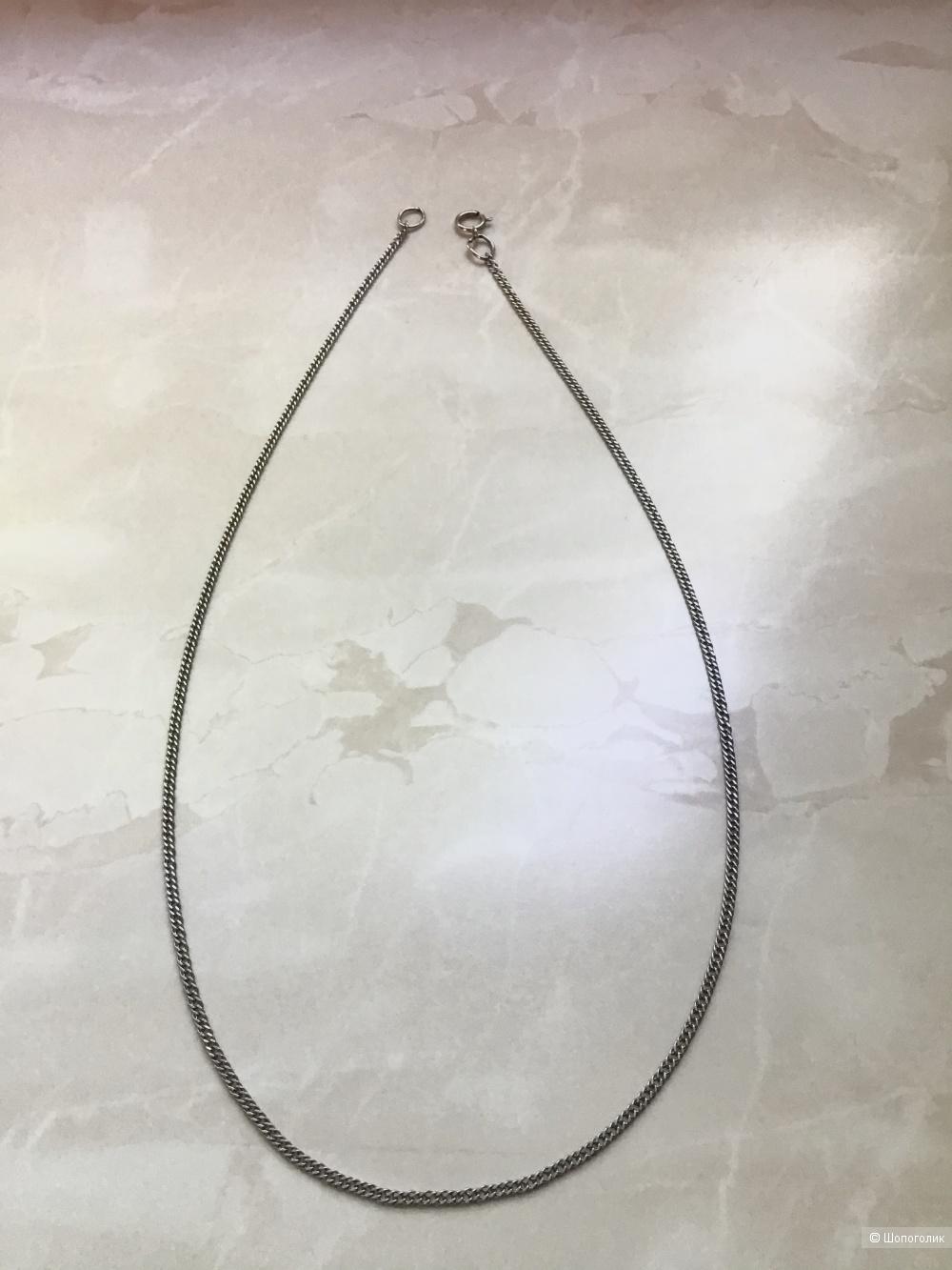 Серебряная цепочка, 40 см