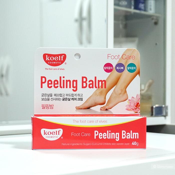 Бальзам-пилинг для ног от натоптышей и мозолей Petitfee Koelf Foot Care Peeling Balm