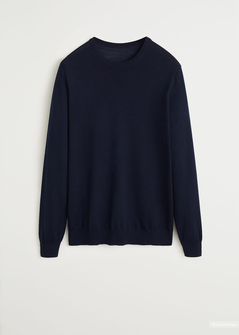 Шерстяной пуловер mango, размер m