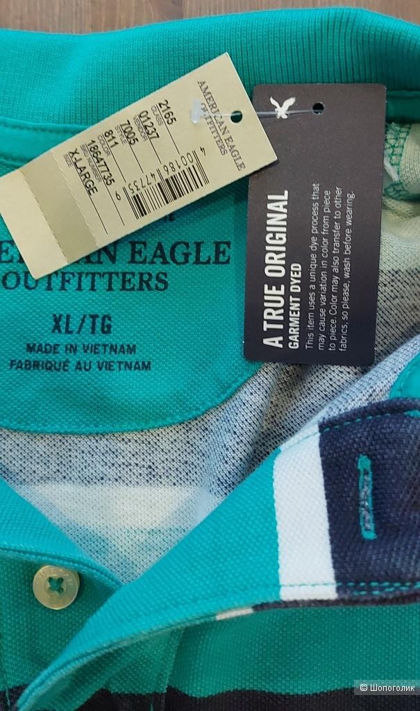 Мужская футболка-поло American Eagle ХL на 50-52 русс