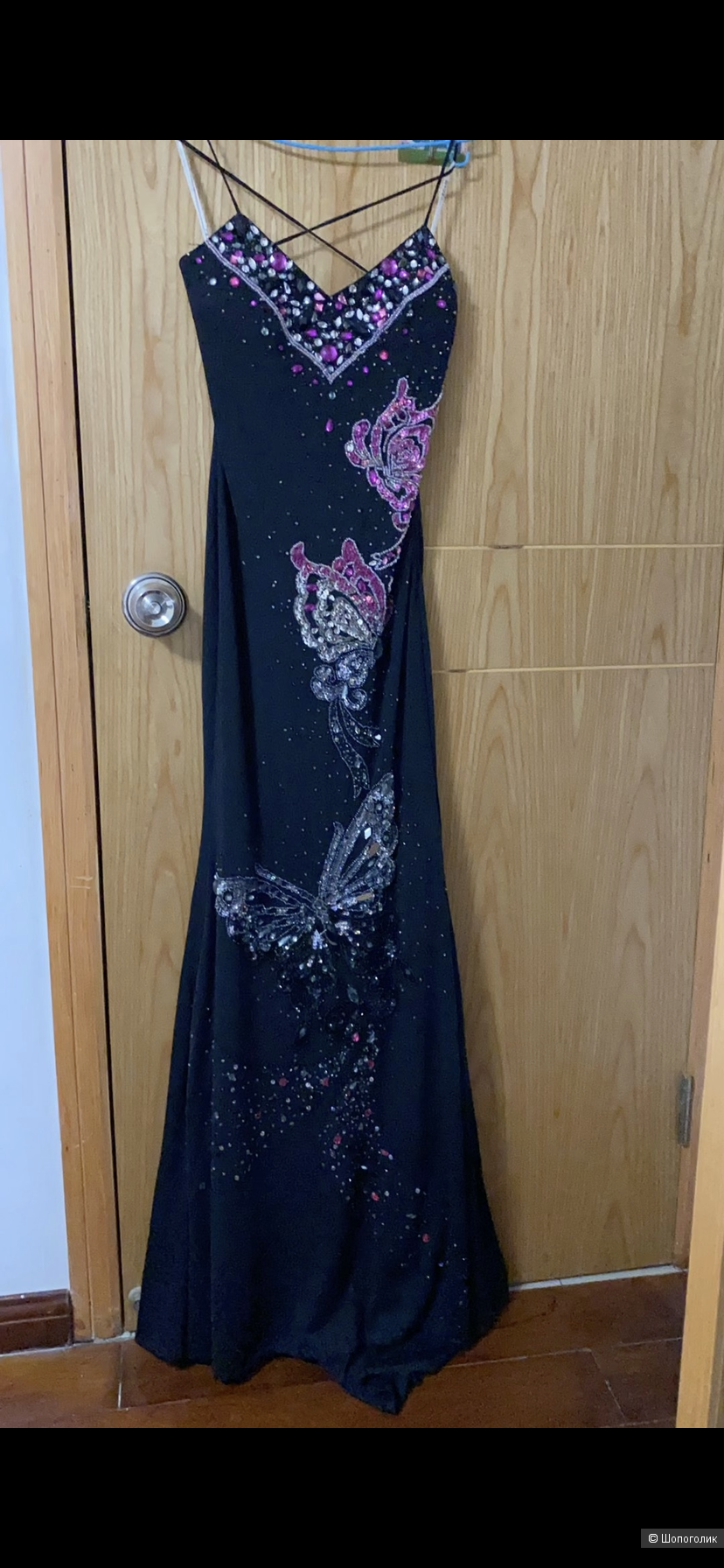 Платье с бабочками, фирма dating day, размер xs