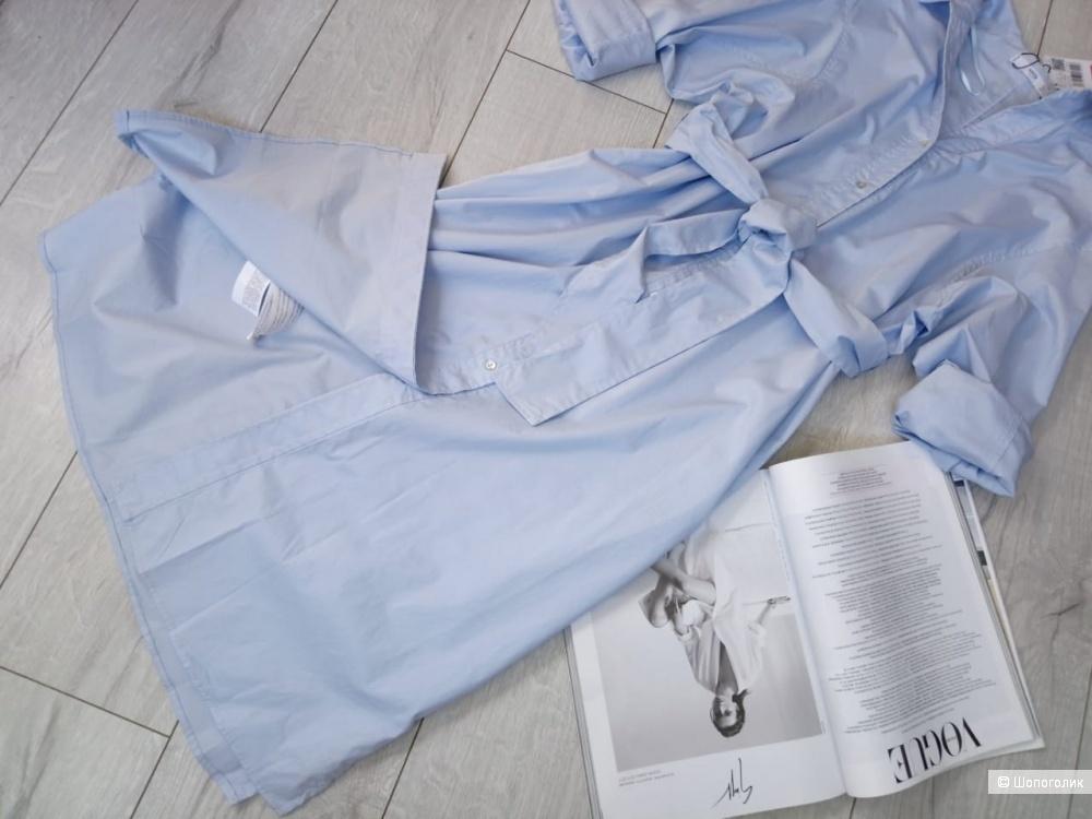 Платье-рубашка из хлопка mango, размер L (+/-)
