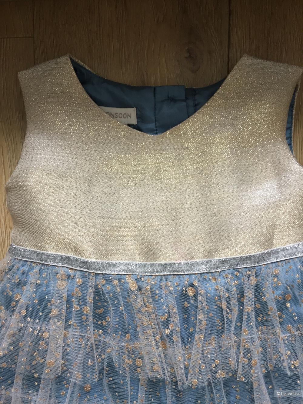 Платье Monsoon 12-18 месяцев