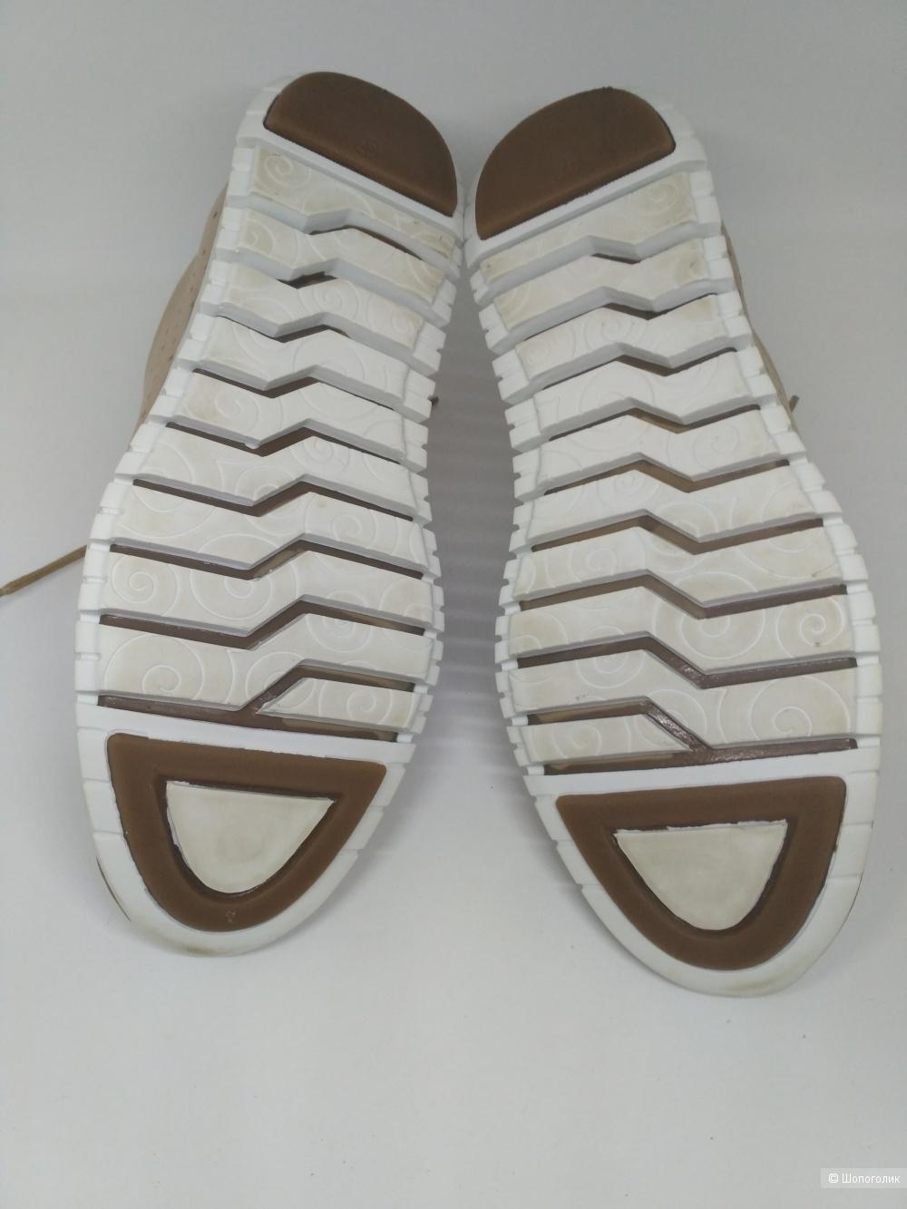 Ботинки кроссовки Thomas Munz кожаные 37 размер
