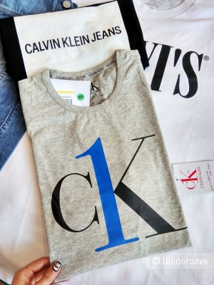 Мужская футболка Calvin Klein М и L размер