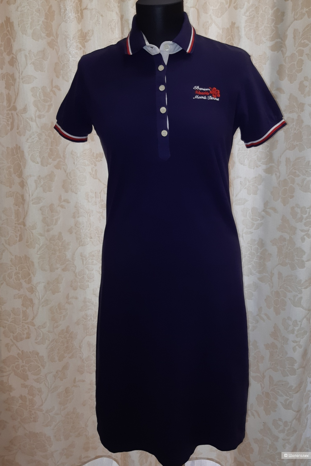 Платье поло m.conte donna, размер m