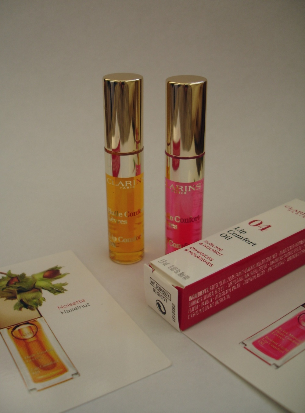 Набор масел-блесков для губ Lip Comfort Oil Clarins