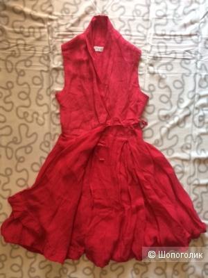 Платье с запахом, Haris Cotton, размер М (44-46 RUS).