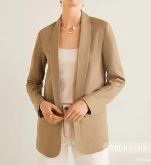Пиджак 100% лен, mango, размер L
