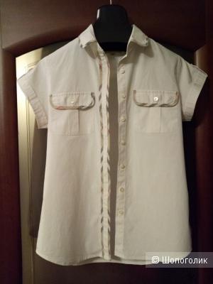 Рубашка BURBERRY, размер 44-46 рос