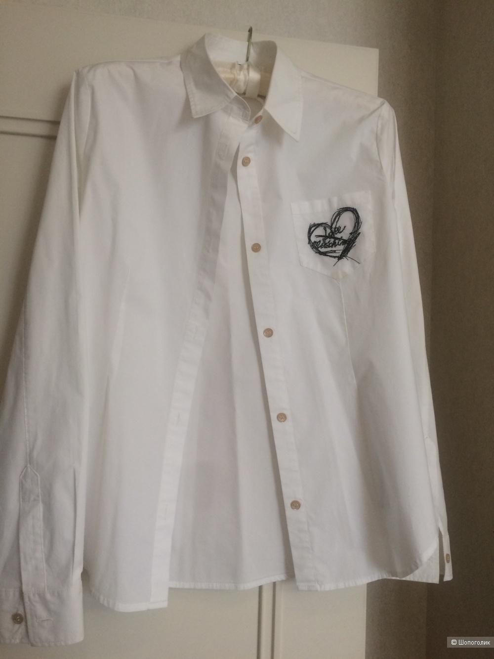 Рубашка белая Love Moschino, р.S