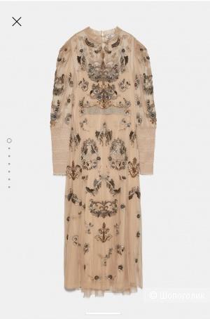 Вечернее платье Zara лимитированная коллекция размер m-l