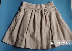 Льняная юбка на 42-44