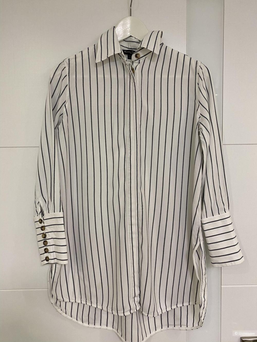 Рубашка, размер s, хs, бренд massimo dutti