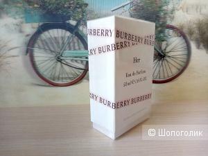 Парфюмерная вода BURBERRY HER, 50 ml