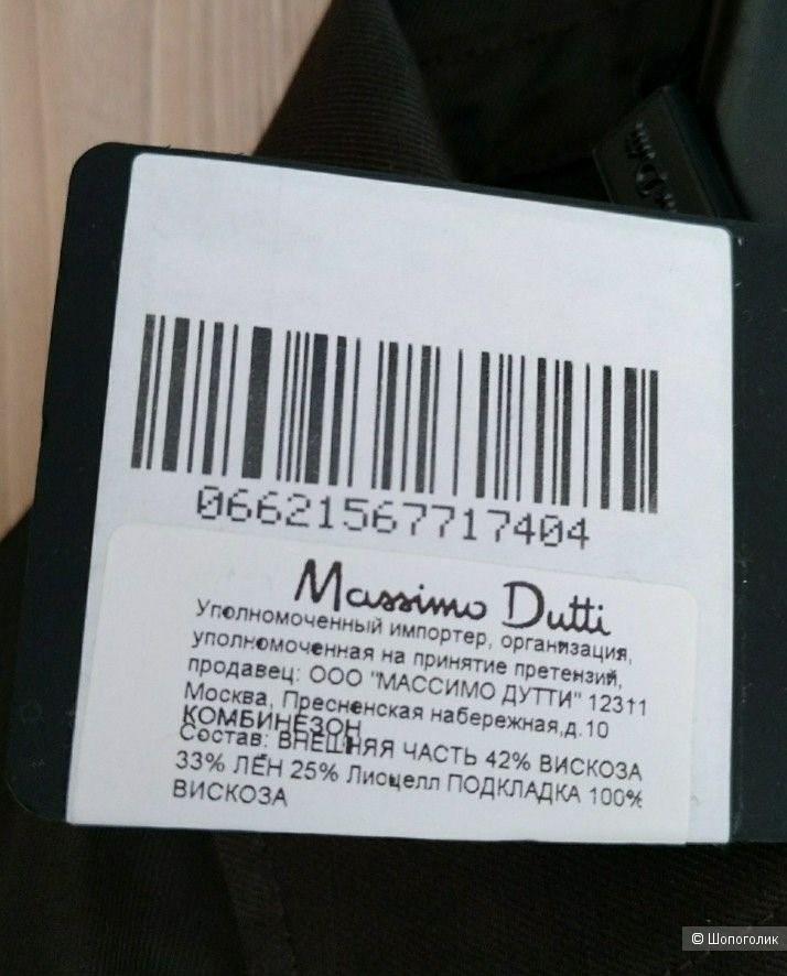 Льняной комбинезон Massimo Dutti маркировка 44 на 48-50-52