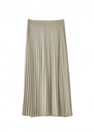 Плиссированная юбка Massimo Dutti, р.42.