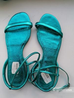 Кожаные сандалии Flip Flop 40 размера