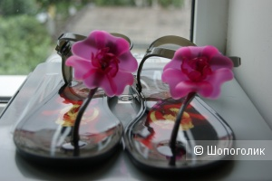 Силиконовые сандалии Furla  ,  размер 39