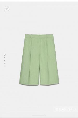 Льняные шорты Zara в размере М