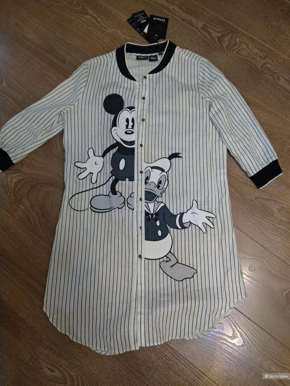 Платье-рубашка ONLY, размер 44-46