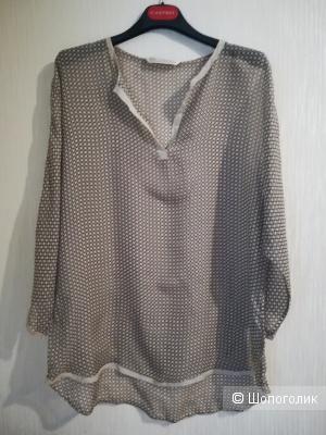 Блузка шёлк Max volmary dimonds& pearls, Оверсайз
