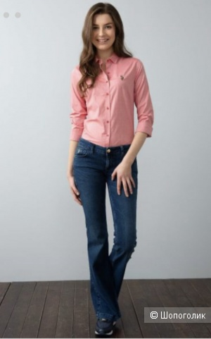 Рубашка женская US Polo р 38