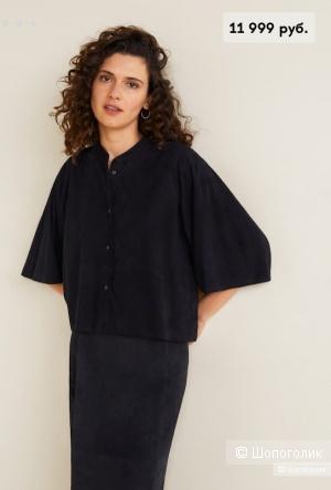 Куртка/рубашка кожа(замш) Mango M