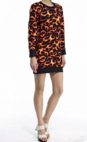 Платье-свитшот Love Moschino, размер S.