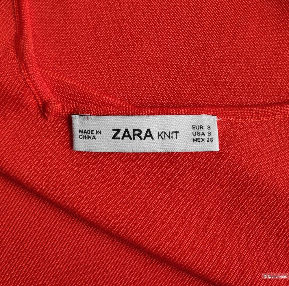 Топ Zara knit. Маркировка S/ S-M.