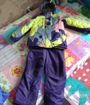 Зимний костюм oldos размер 116-122