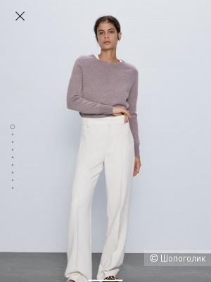 Свитер из шерсти и кашемира Zara в размере L