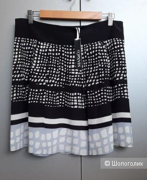 Шёлковая юбка MAX&Co на р.46 +/-