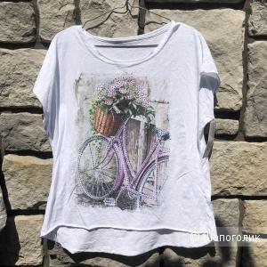 Футболка Bicicletta fiori Italy, 42-48