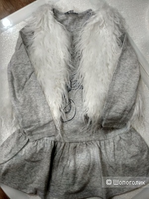 Сет платье +жилет pepco размер 5-6 лет