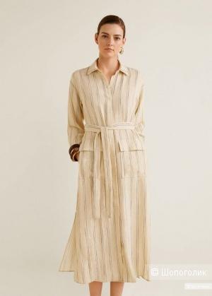 Платье- рубашка mango, размер S/М