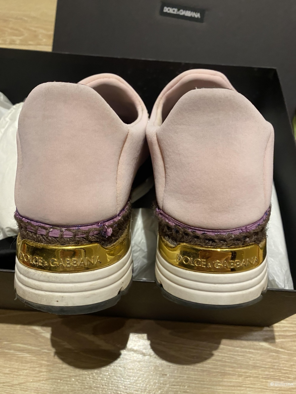 Кроссовки Dolce&Gabbana на 36