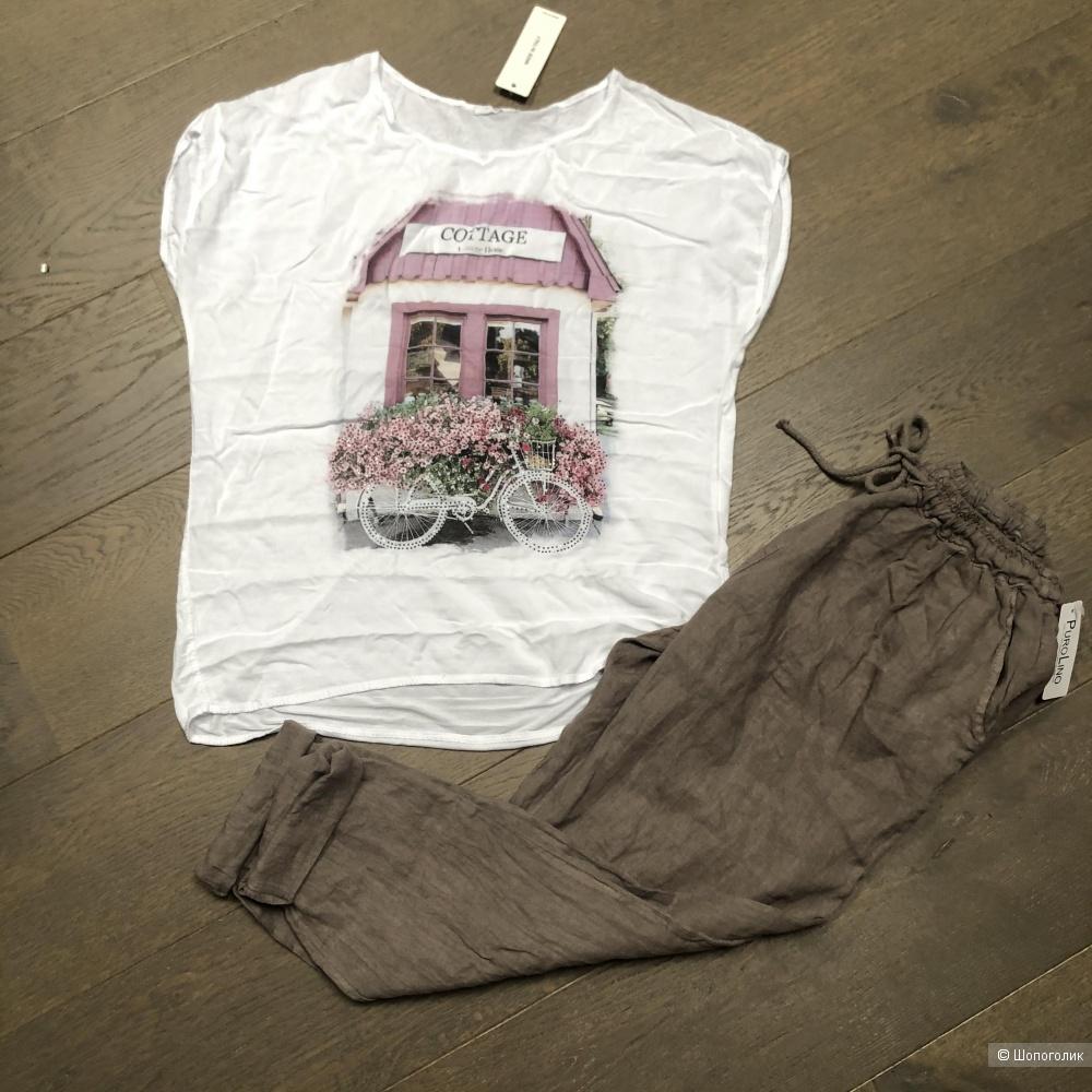 Футболка-блуза  Cottage Italy moda, 44-50