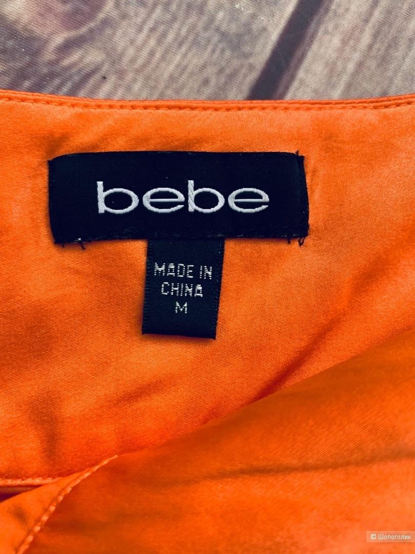 Шелковое платье от Bebe S/M