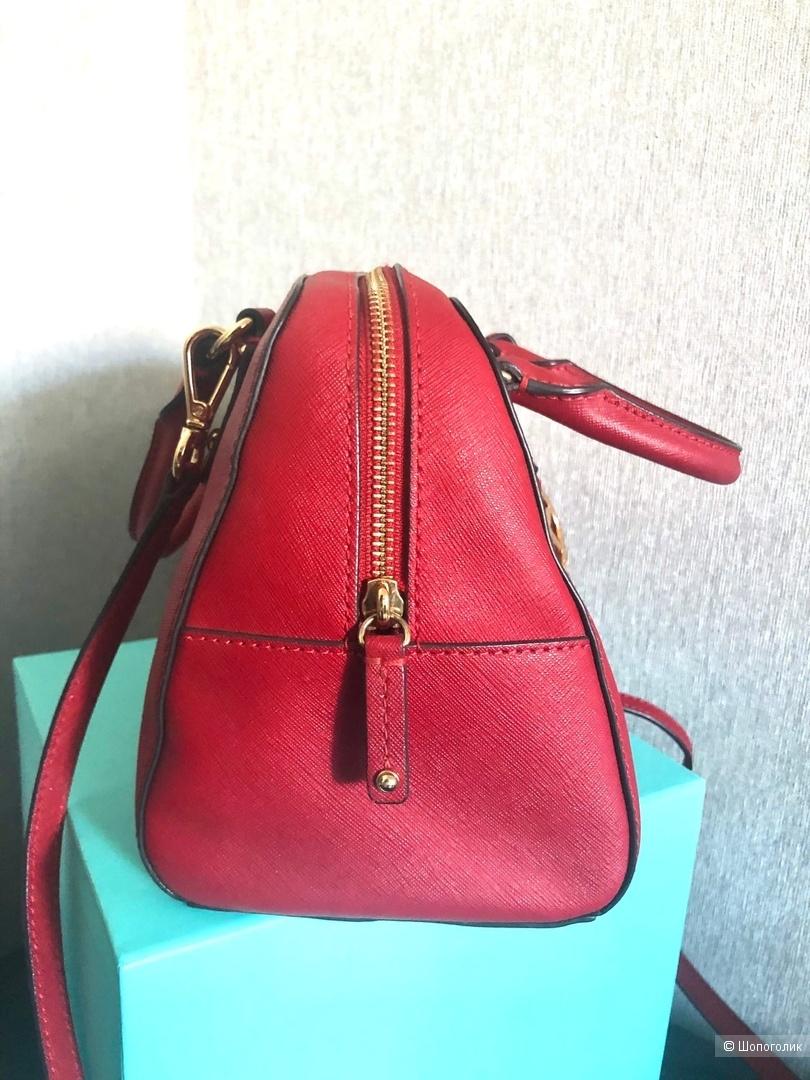 Сумка б/у Michael Kors Saffiano Small Satchel Leather