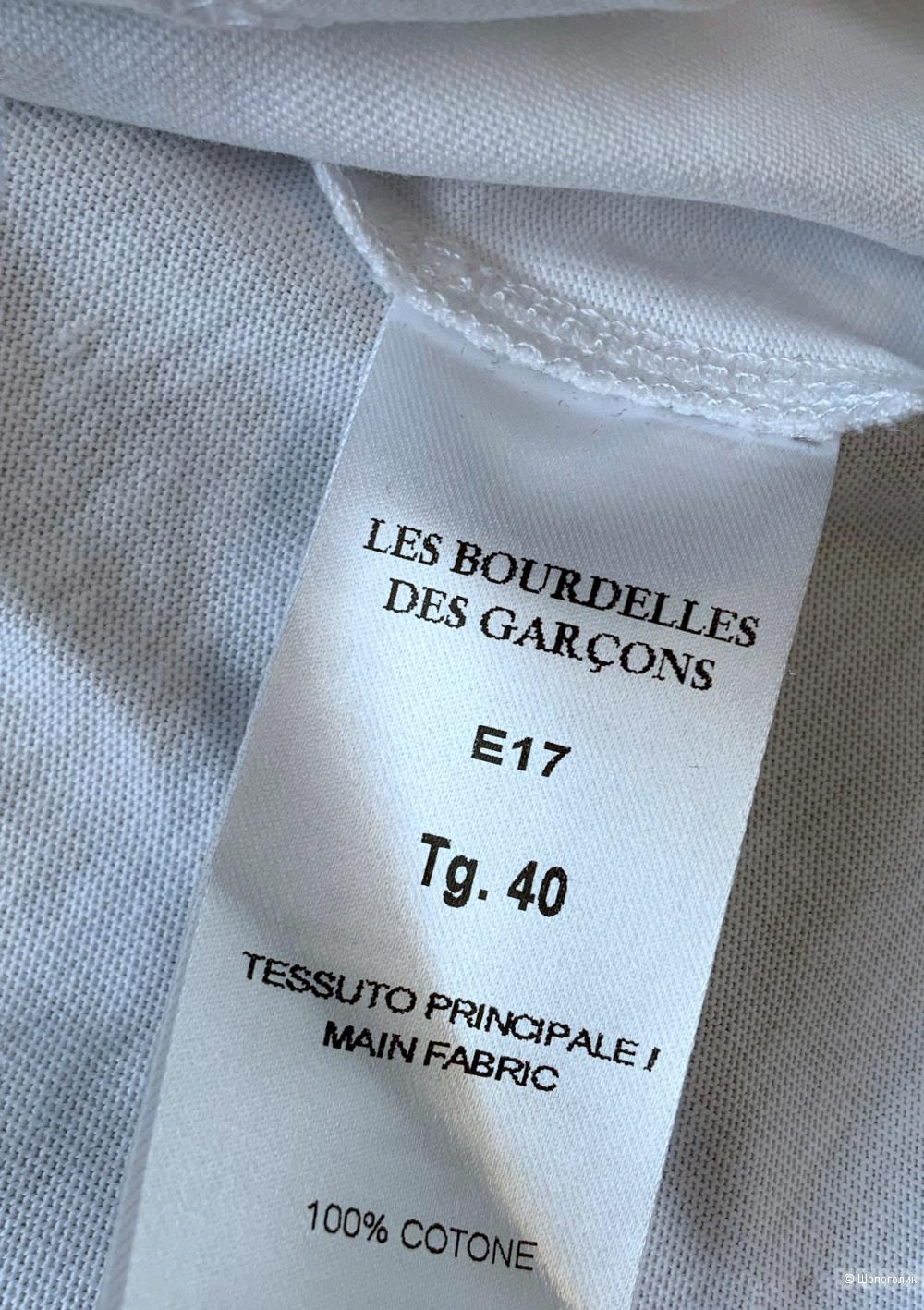 Топ LES BOURDELLES DES GARÇON, размер 40 it