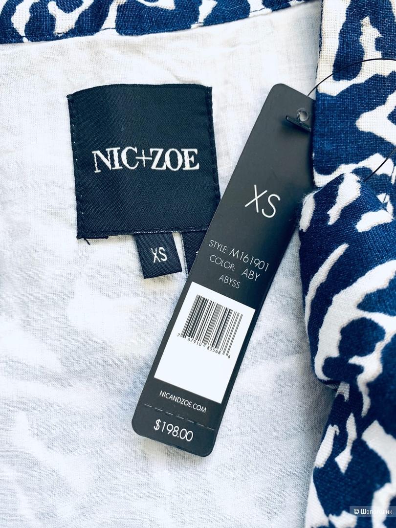 Льняное платье от Nic+ Zoe S/XS
