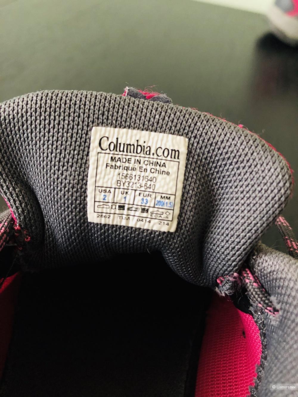 Кроссовки Columbia, 33 Eur