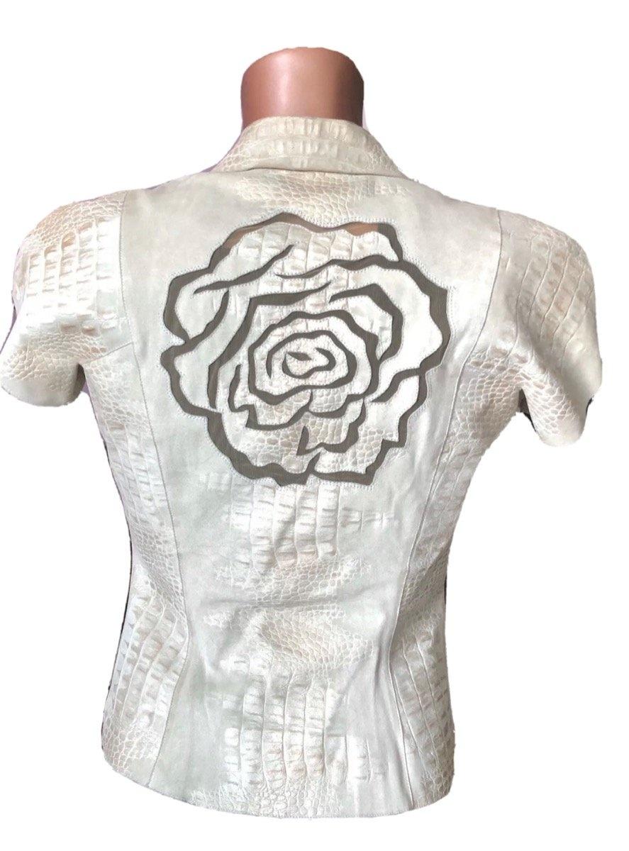 Пиджак кожаный Giorgio Armani Размер: 38 IT