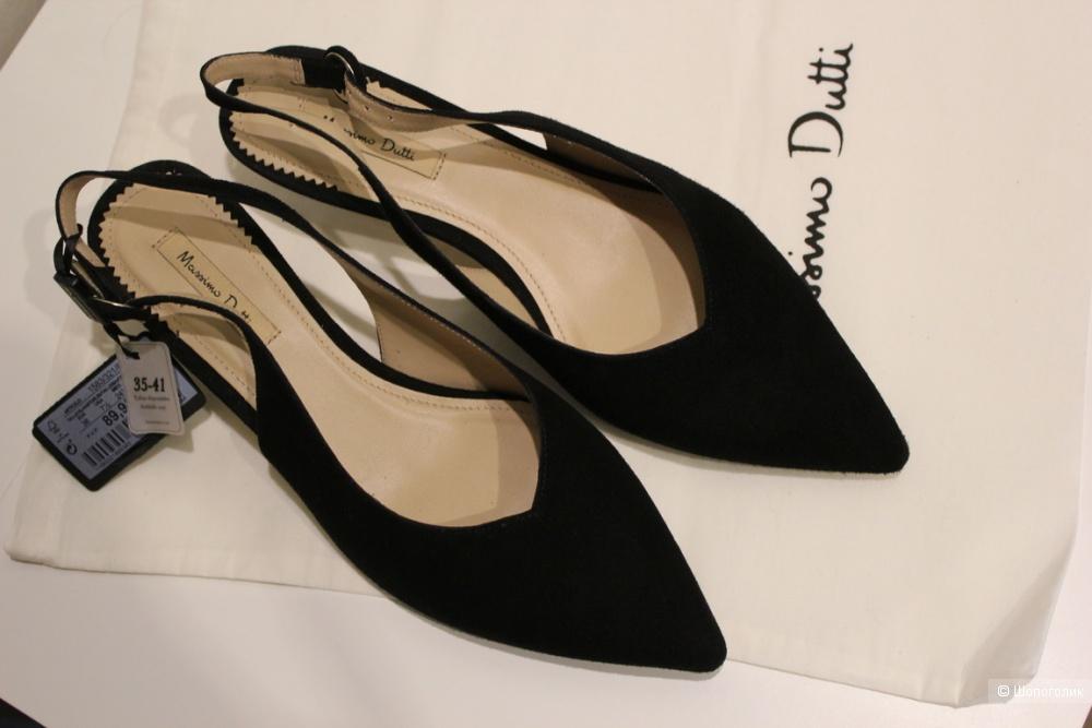 Туфли слингбэки Massimo dutti,  38 размер