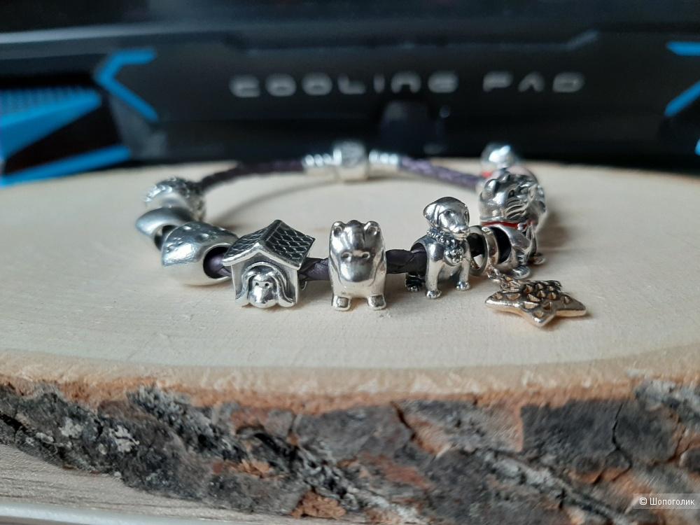 Браслет Pandora с шармами