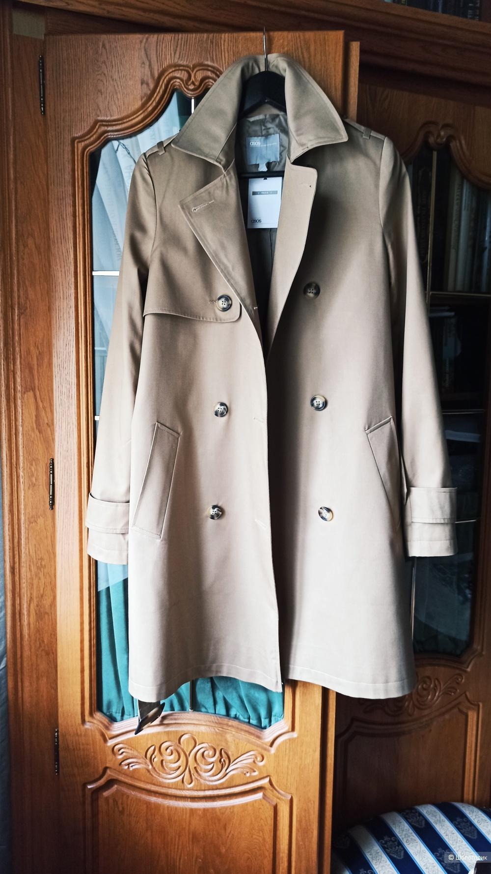 Классический британский тренч бежевый S пальто ASOS tall