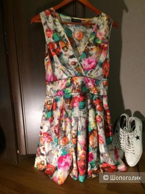 Платье шелковое WAREHOUSE 40 размер по бирке (44-46 наш)