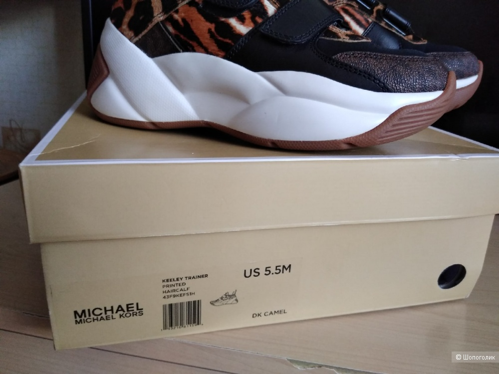 Кроссовки Michael Kors. Размер: US 5.5 (23 см).